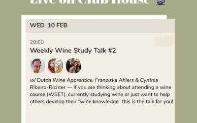 Weekly Wine Study Talk